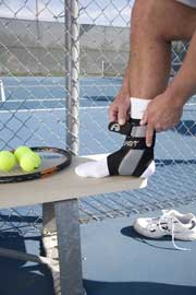 tennis ankle braces1 Tennis Ankle Injuries   Do I need an ankle brace?