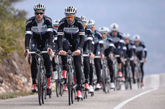 Cycling: Team Omega Pharma Quick Step 2014