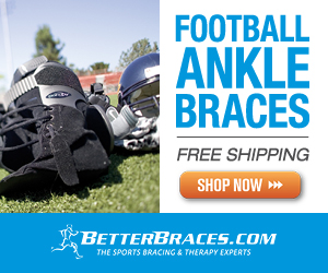 BetterBracesBanner Best Ankle Brace for Football Players