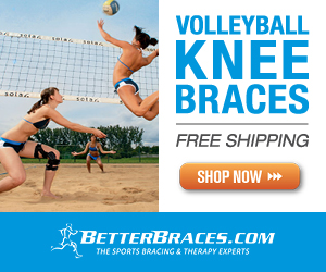 BetterBracesBanner13 Knee Brace for Volleyball Injuries