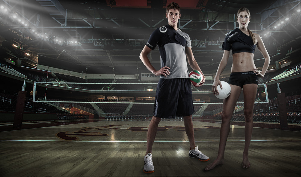Volleyball Players Use HyperIce Shoulder