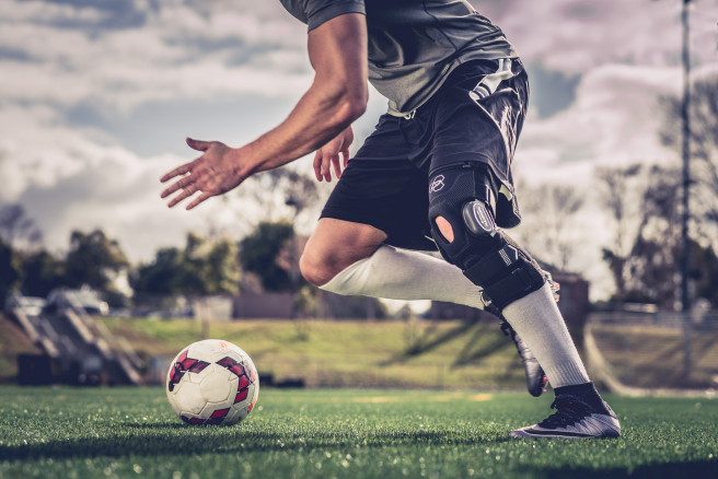 Bionic Fullstop ACL Knee Brace for Soccer