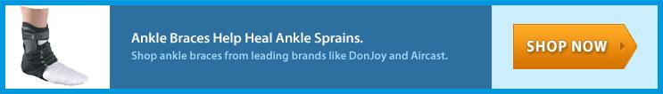 Ankle Braces Heal Ankle Sprain