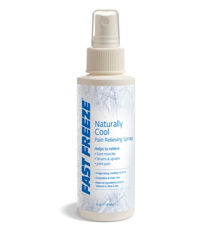 FastFreeze Pain Relieving Gels and Sprays