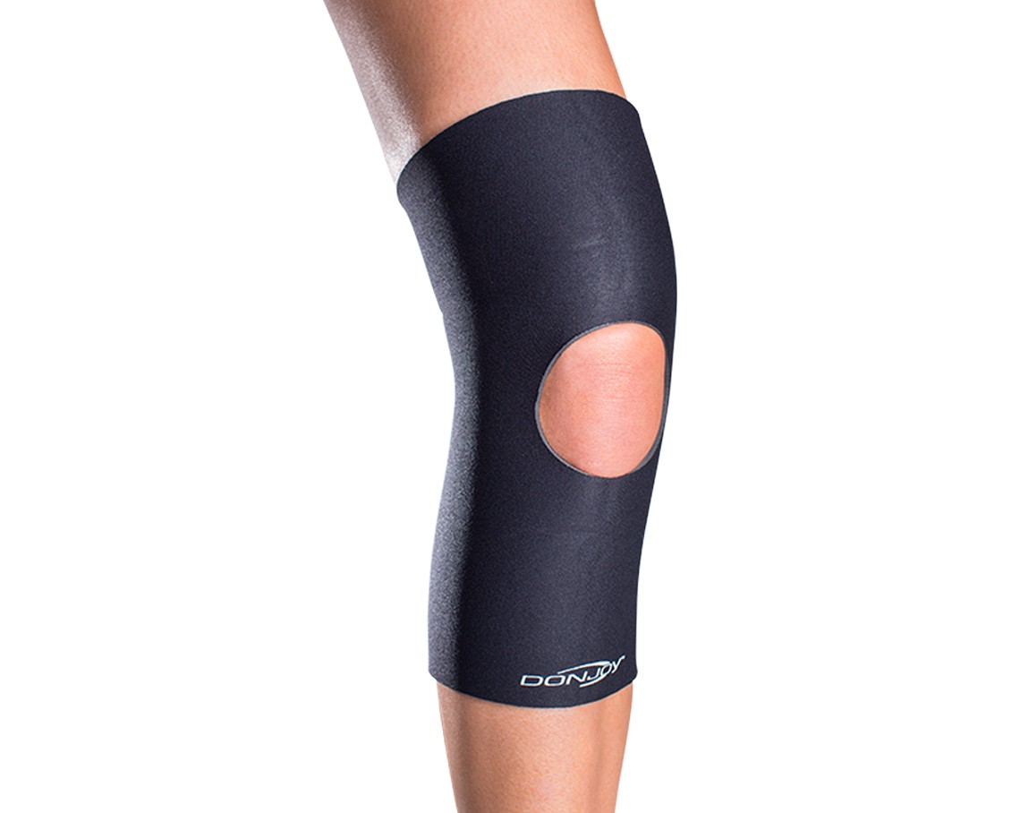 DonJoy Deluxe Open Knee Support - Open Patella