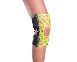 Webtech Knee Brace - Slime Green - No Undersleeve