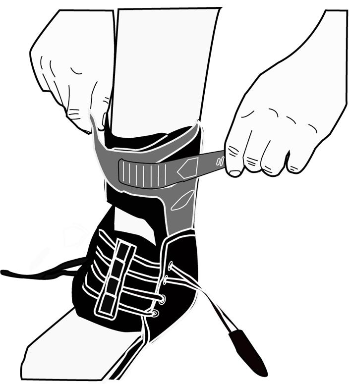 donjoy leg brace instructions
