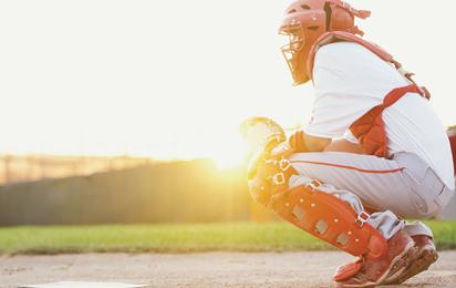 Baseball braces and Softball supports