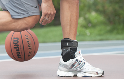 Basketball braces and supports