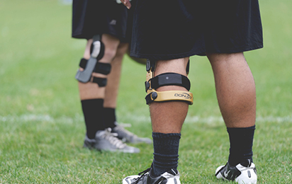 Football braces and supports