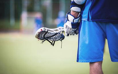 Lacrosse braces and supports