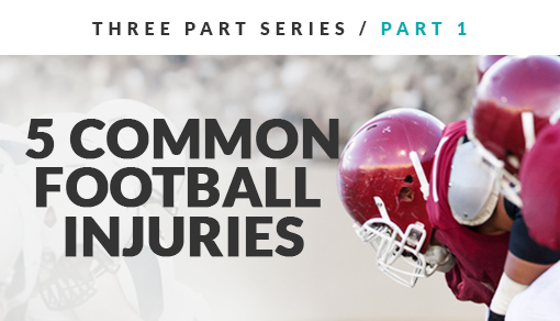 5 common football injuries