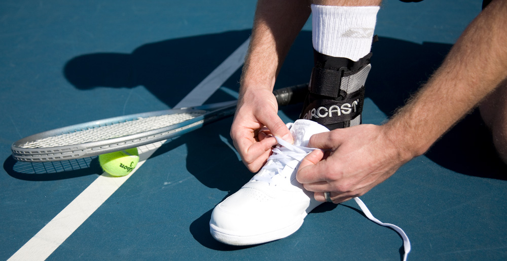 Aircast A60 Ankle Brace for Tennis