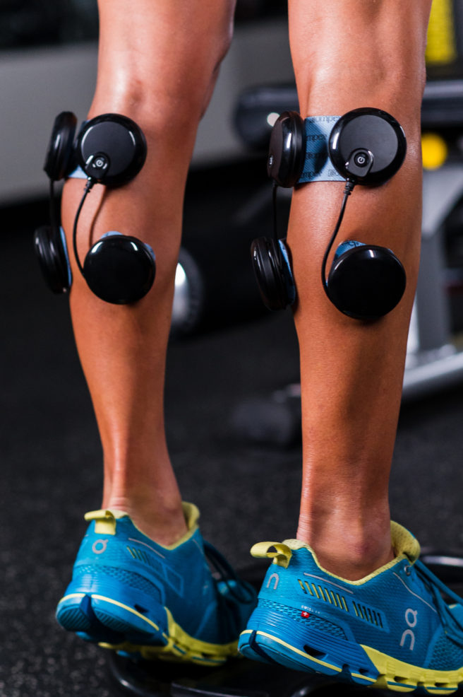 Compex Calf Workout