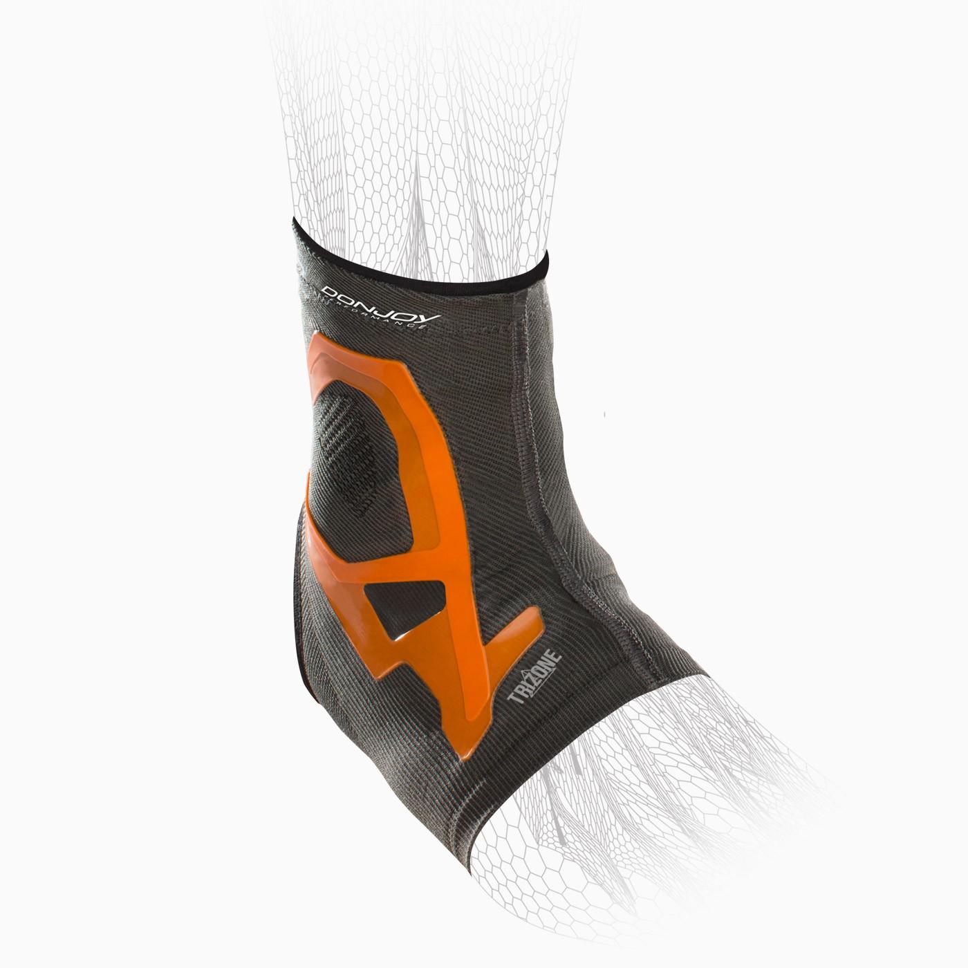 fc8d81df714b DonJoy Performance. Trizone Ankle Compression Sleeve