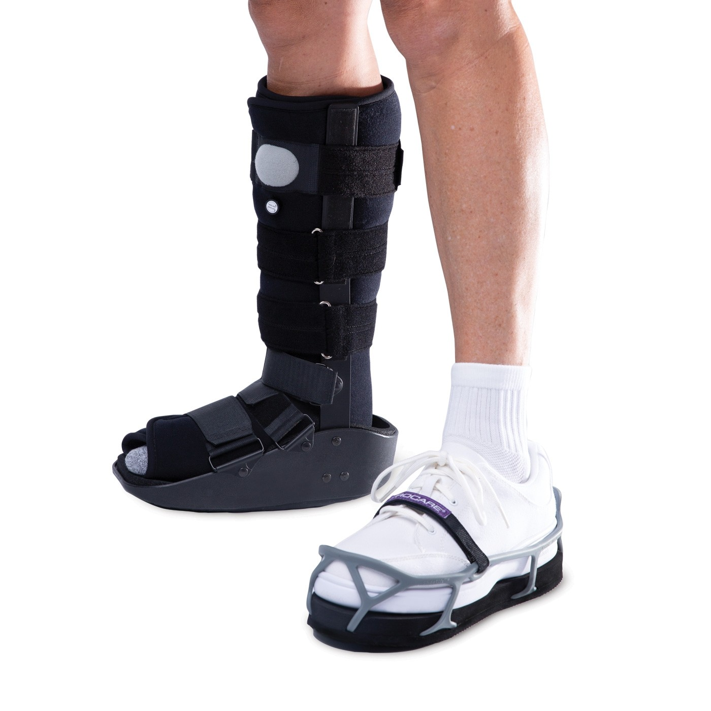 Healvaluefit Shoe Leveler Shoe Lift Shoe Balancer for Walking Boot Height Enhancing Shoe Small