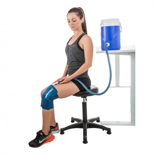 Aircast Knee Cryocuff W Gravity Cooler