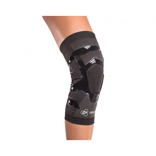 Repetitive Use Injuries /& Soreness Hiking DonJoy Performance Trizone Knee Compression Support Knee Sleeve Sprains Lifting Walking Low-Profile Lightweight for Running Fitness Knee Strains Basketball Inflammation Volleyball