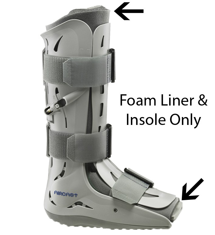 Aircast Walker Replacement Foam Liner w/ Insole
