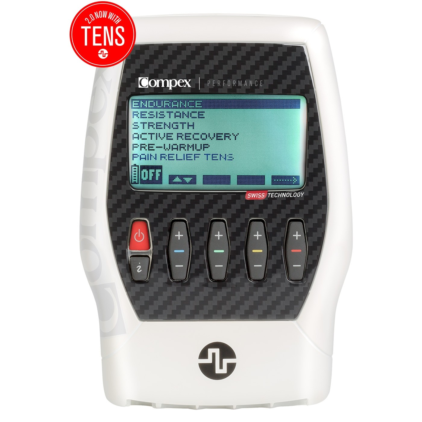 COMPEX PERFORMANCE 2.0 MUSCLE STIMULATOR KIT WITH TENS