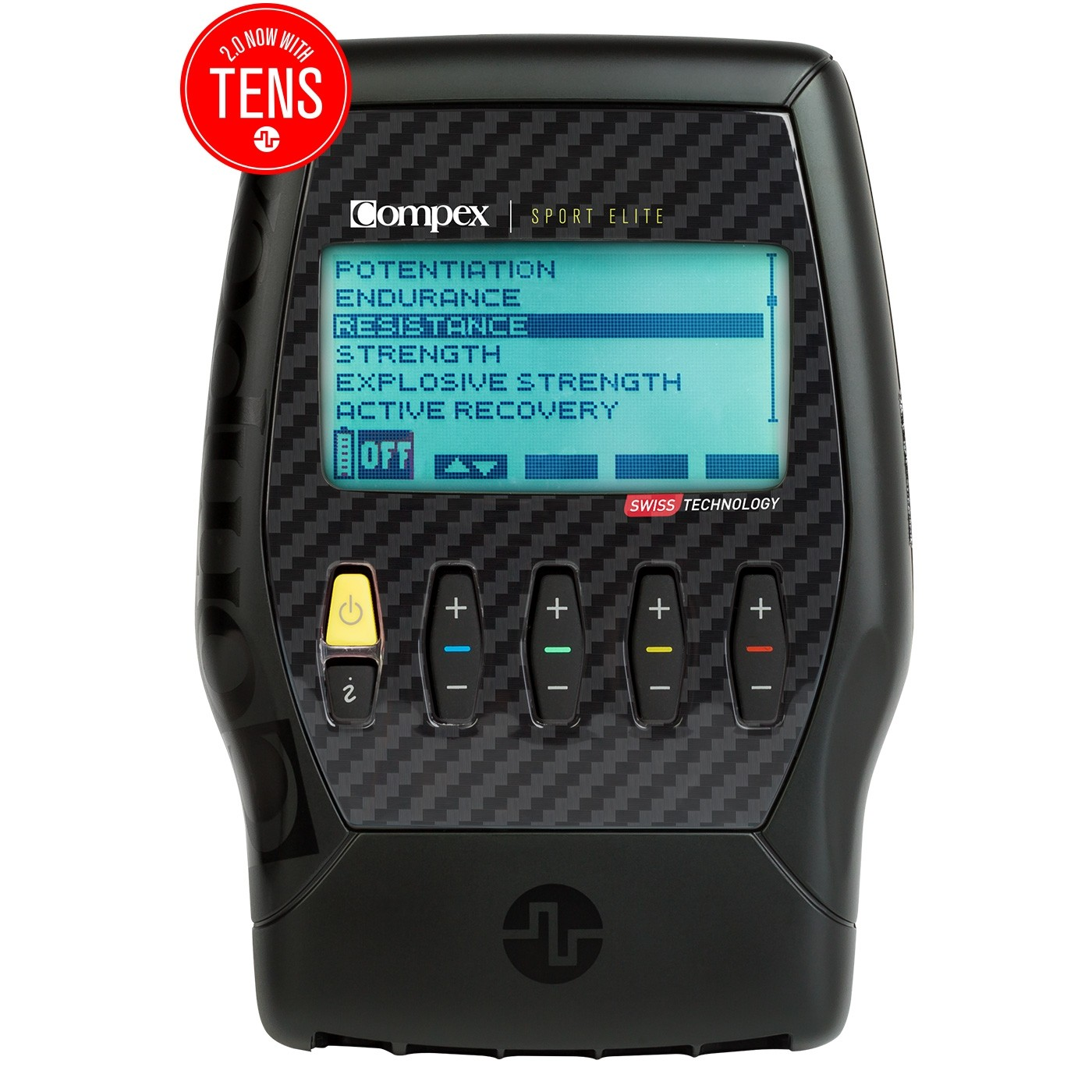 COMPEX SPORT ELITE 2.0 MUSCLE STIMULATOR KIT WITH TENS