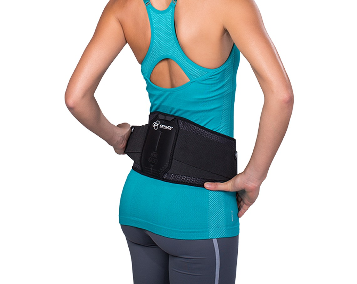 Bionic Back Support back showing side pulls