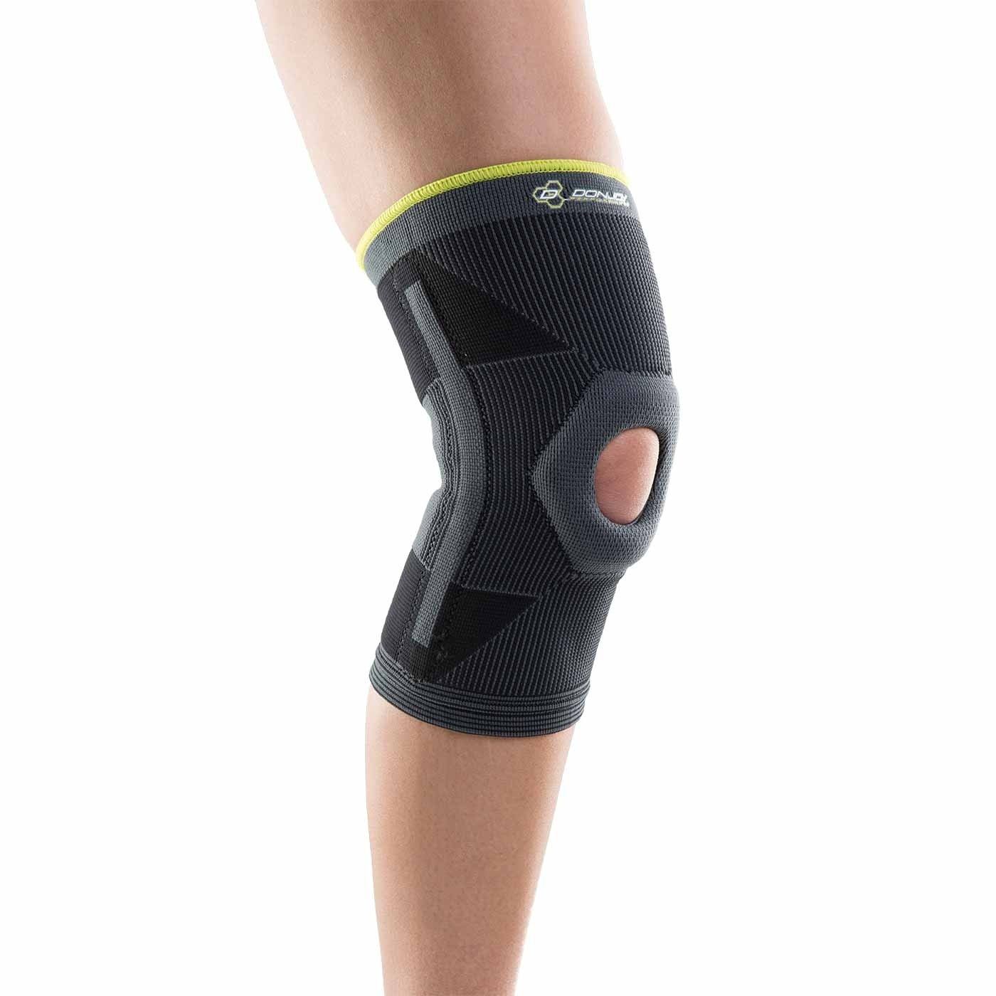 0a68c50b64 DonJoy Performance Deluxe Knit Knee Sleeve Brace with Stays