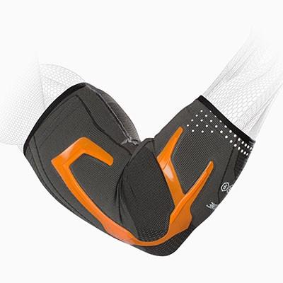TriZone Elbow Support - Orange - Hex