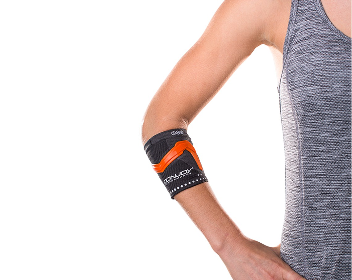 TriZone Tennis/Golf Support - Orange - On-SKin