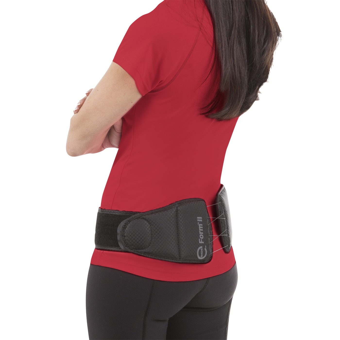 Exos Form II 621 SI Joint Back Brace - On Body