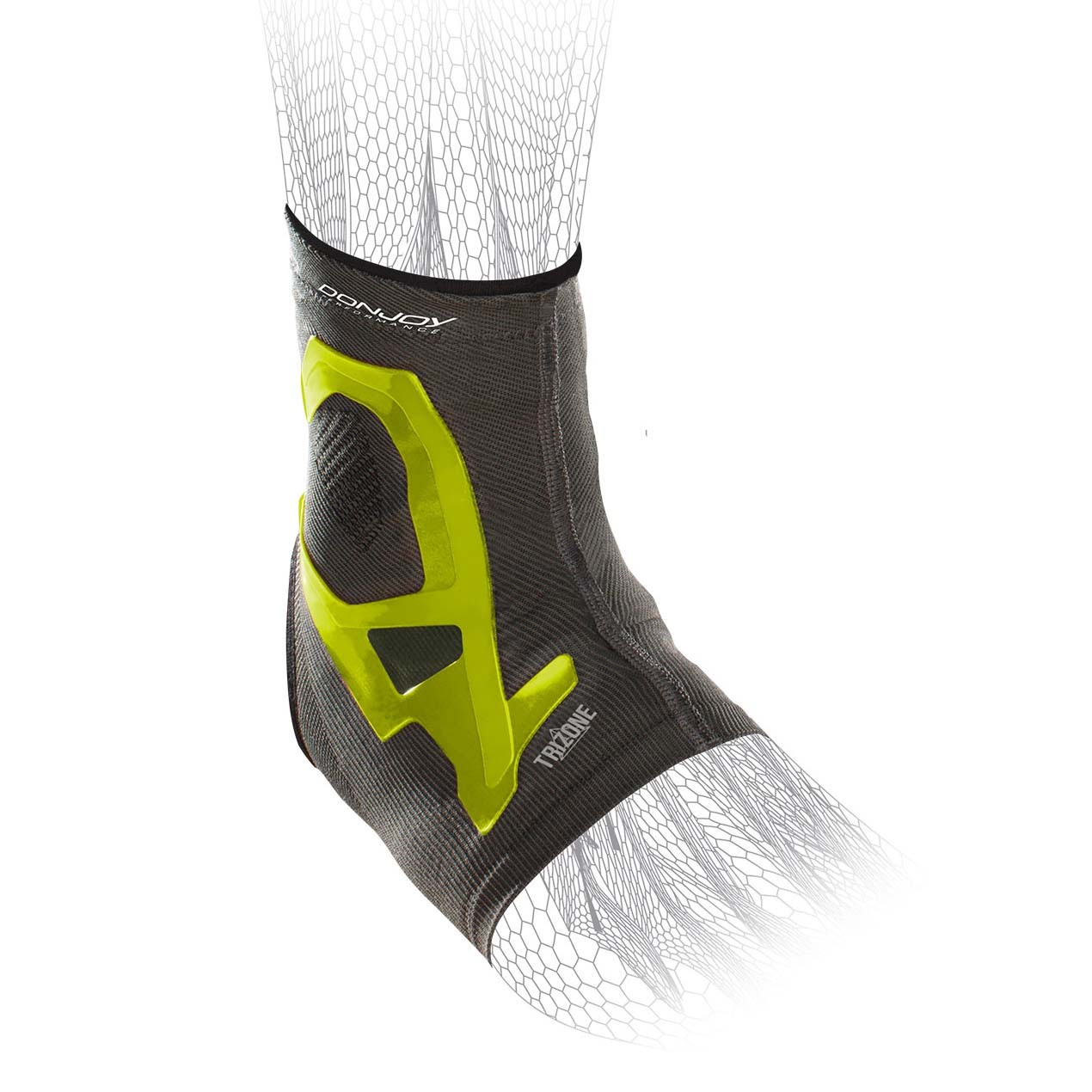 TriZone Ankle Support - Slime - Hex
