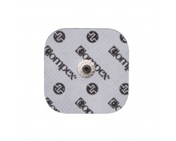 COMPEX EASY SNAP ELECTRODES 2IN X 2IN - WHITE