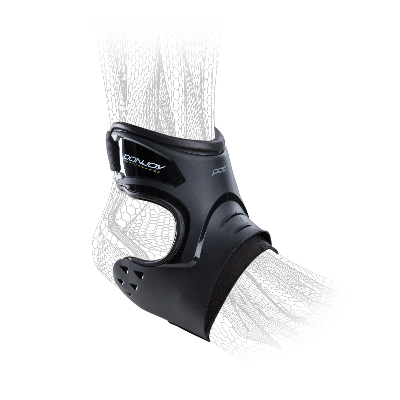 DonJoy Performance POD® ANKLE BRACE - Left, Right - Black,