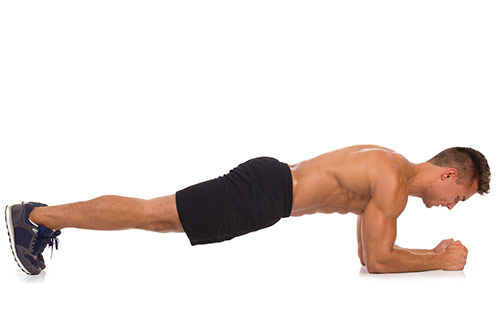forearm plank exercise