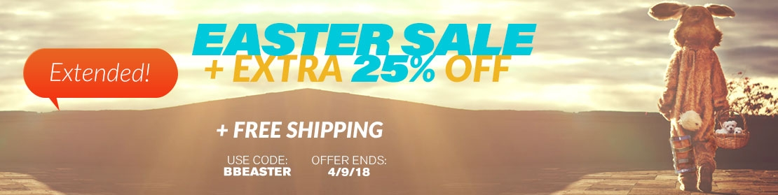 Extended - Easter Sale – Extra 25% Off Sitewide