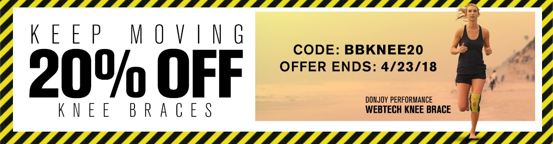 Keep Moving - 20% OFF Knee Braces