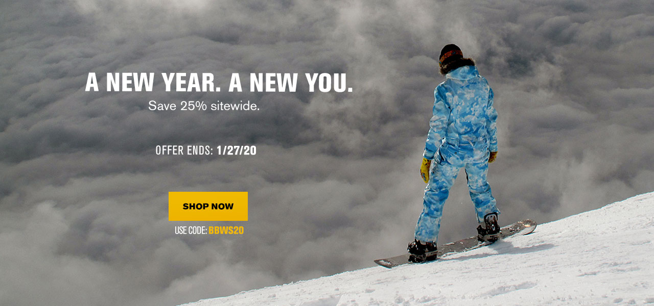 A New Year. A New You. - Save 25% Sitewide.