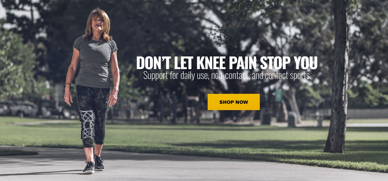 DON'T LET KNEE PAIN STOP YOU
