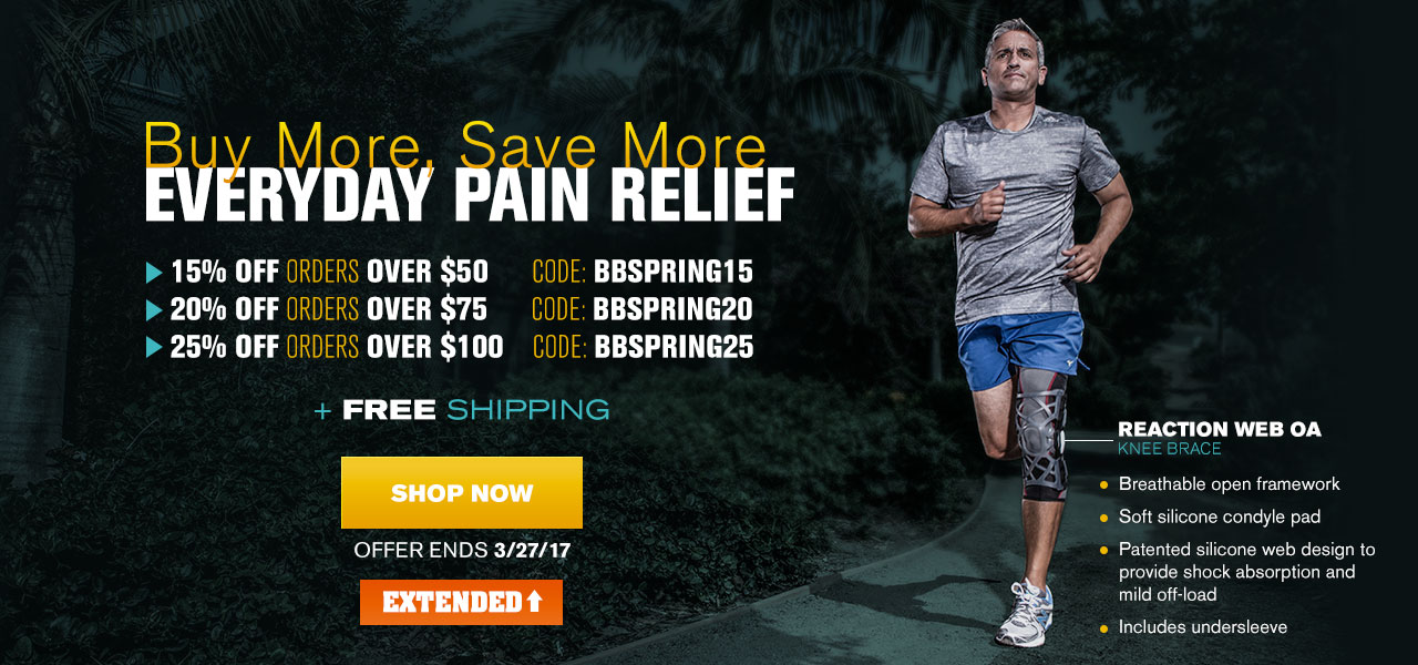 Buy More, Save More - EVERYDAY PAIN RELIEF