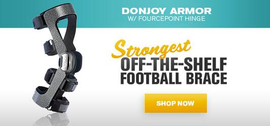 Strongest Off-the-Shelf Football Brace