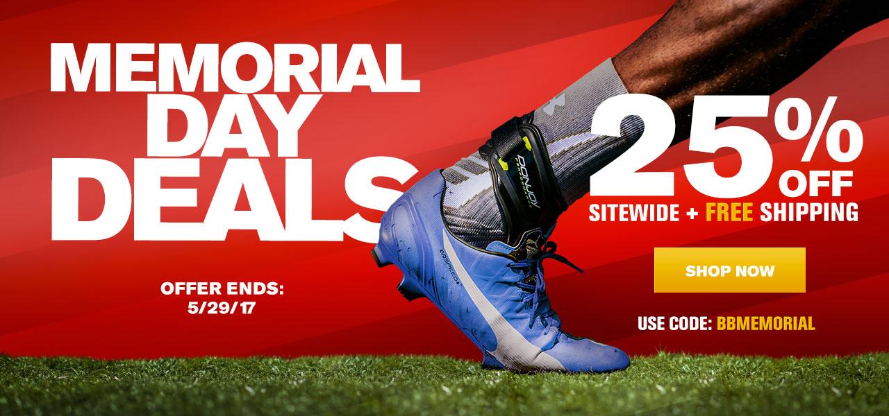 Memorial Day Deals - 25% Off Sitewide