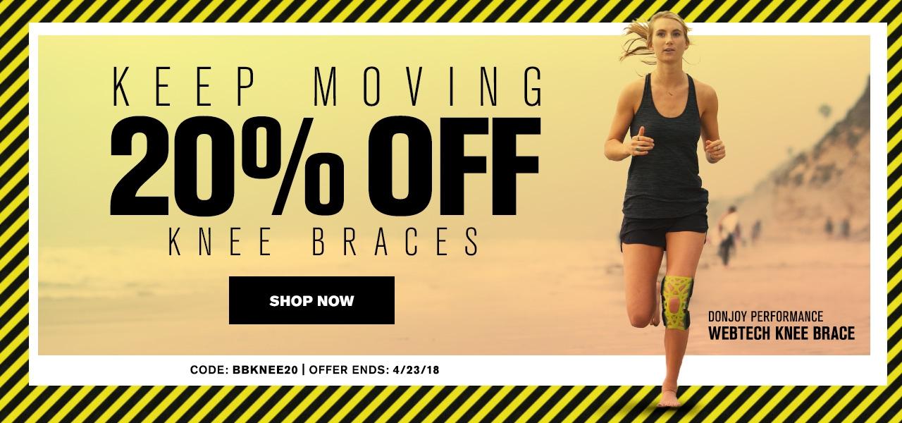 Keep Moving - 20% OFF Knee Braces
