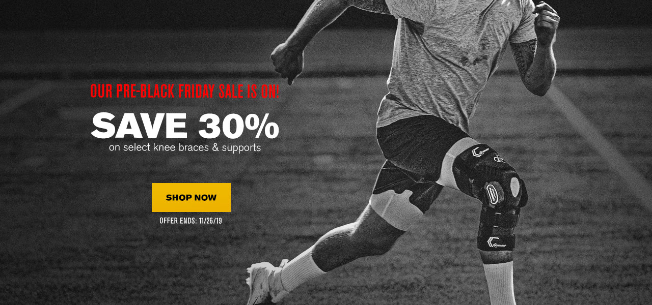 Save 30% on Select Knee Braces and Supports