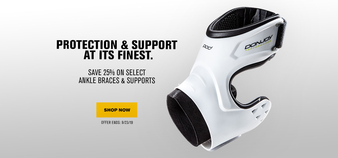 ave 25% on All Ankle Braces & Supports