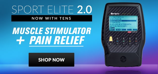Compex 2.0 with TENS