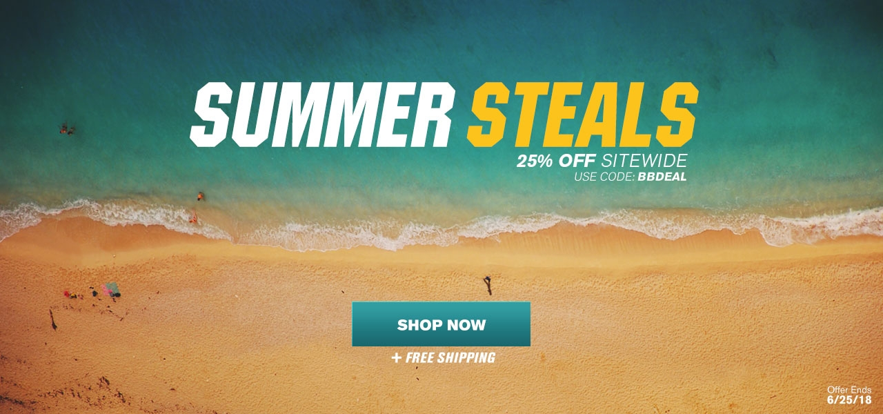 Summer Steals - 25% Off Sitewide