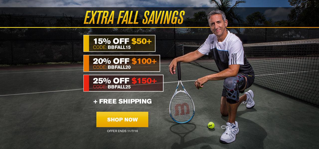 Extra Fall Savings