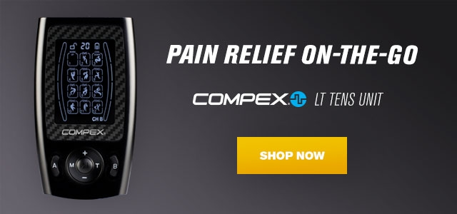 Pain Relief On-the-Go -  Compex® LT TENS Unit