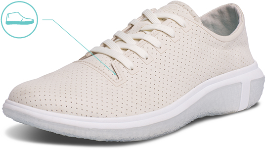 Men's La Costa Trainer Upper Material