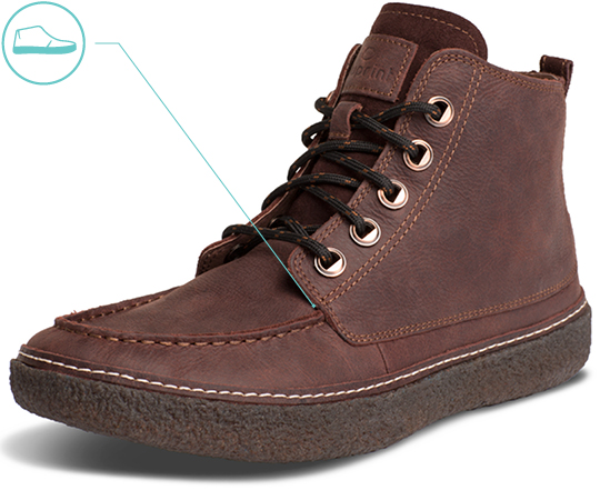 Men's Newport Chukka Boot Upper Material